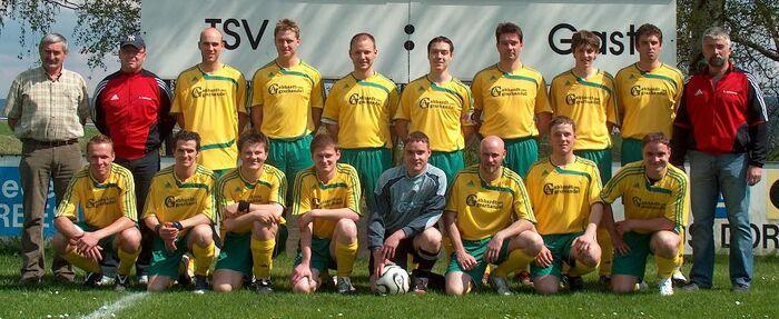 1. Mannschaft des TSV Streitau 08/09