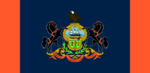 Pennsylvania State Flag Proposal No 4 By Stephen Richard Barlow 31 AuG 2014 at 1436hrs cst