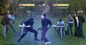 Unknown fighting game