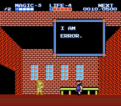I am error