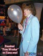 SINJIN! DO NOT LICK THE BALLONS!