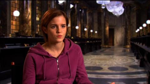 "Harry Potter and the Deathly Hallows Part 2 (2011) - Interview ""Emma Watson On The Cast"""