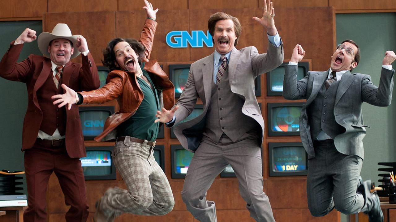Anchorman - Cast Interview