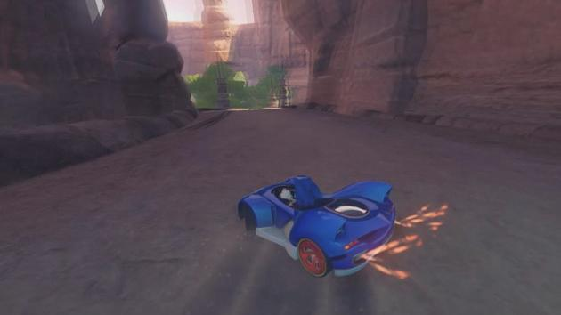 Sonic & All-Stars Racing Transformed Video Preview