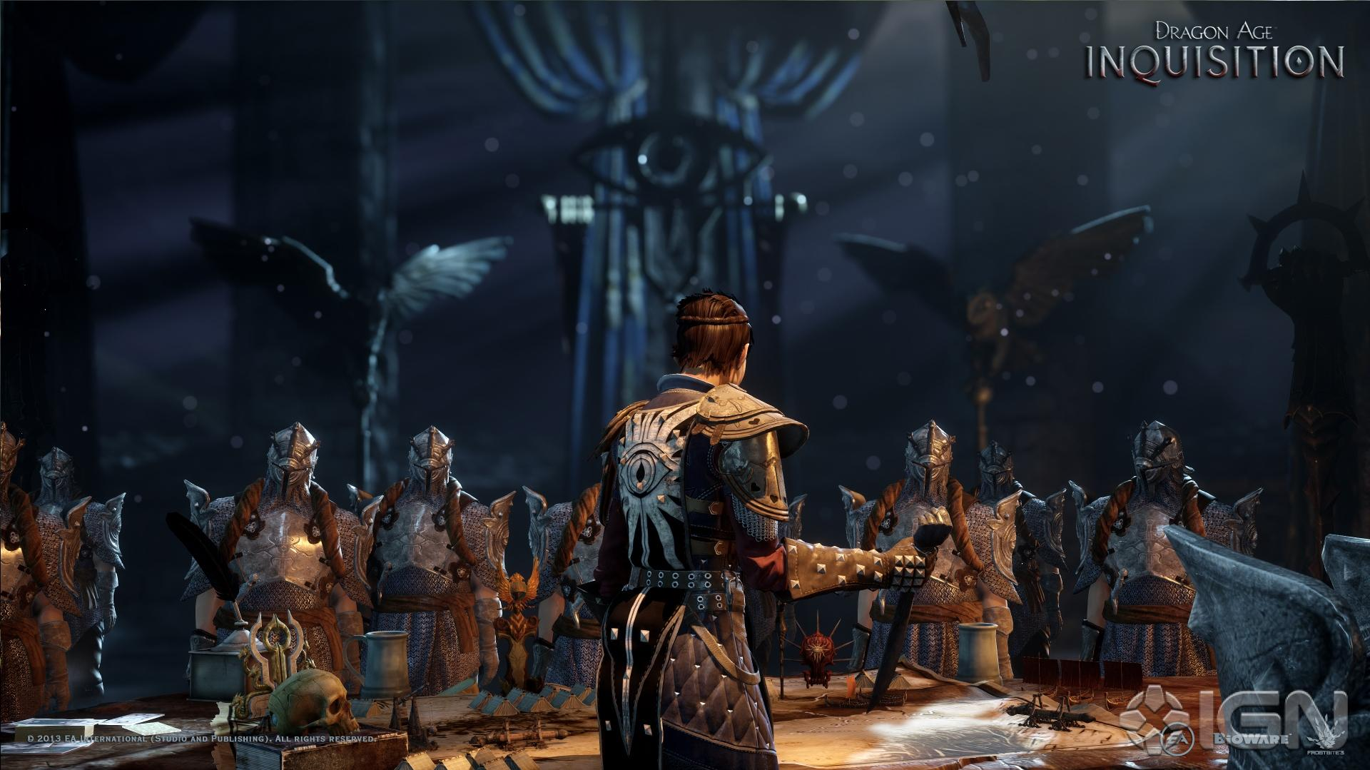 Gamescom Dragon Age Inquisition Developer Diary