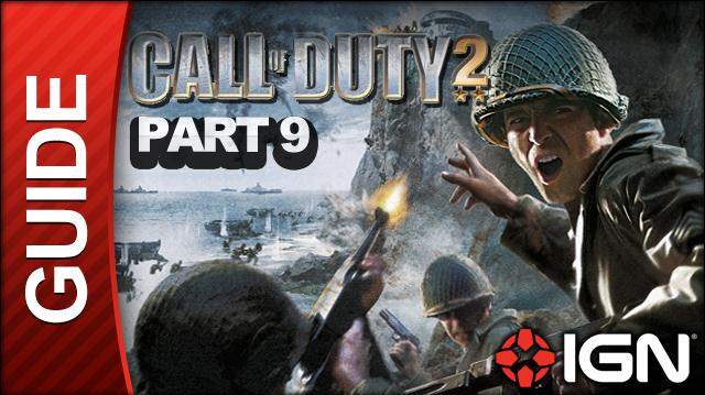 Call of Duty 2 Walkthrough Part 9 - Hold the Line - British Campaign