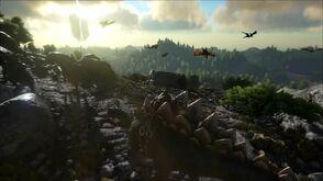 ARK - Survival Evolved Announcement Trailer