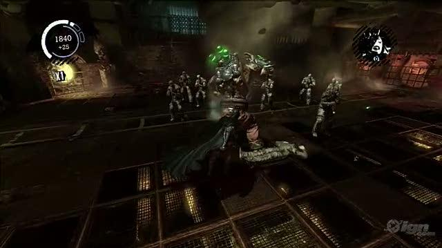 Batman Arkham Asylum PlayStation 3 Gameplay - Fighting Bane