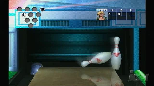 AMF Bowling Pinbusters Nintendo Wii Gameplay - Malaysia Night Bowling