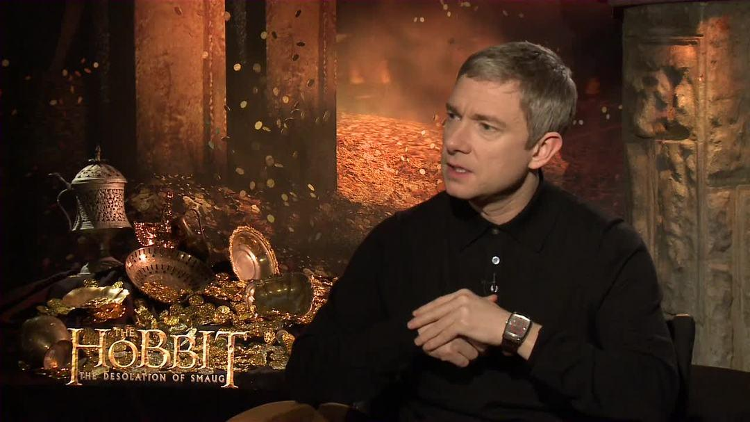 The Hobbit The Desolation of Smaug - Martin Freeman Interview