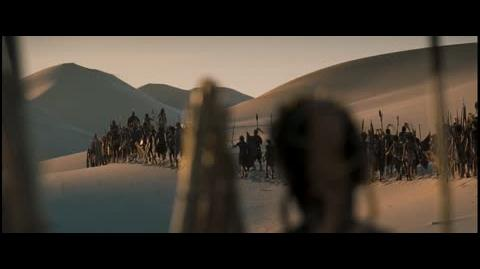 10,000 BC - Wandering in the desert