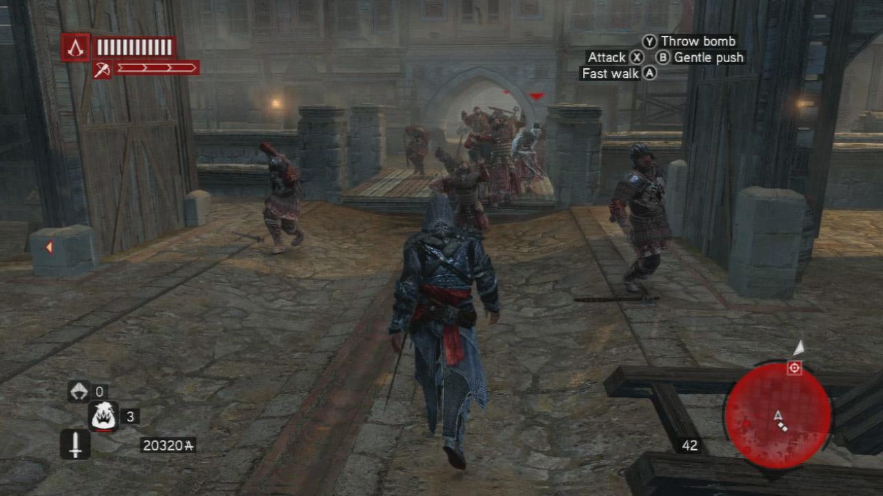 Assassin's Creed Revelations - Brotherhood Revenge - Gameplay