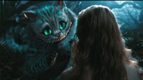 Tim Burton's Alice In Wonderland (2010) - Clip Cheshire Cat