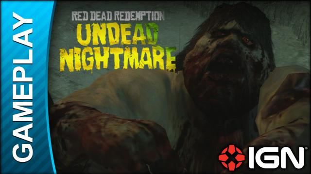 Red Dead Redemption Undead Nightmare - Zombie Movie - Gameplay