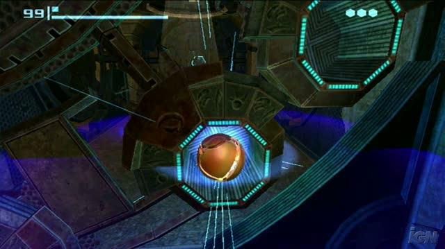 New Play Control! Metroid Prime Nintendo Wii Gameplay - Chozo Puzzle
