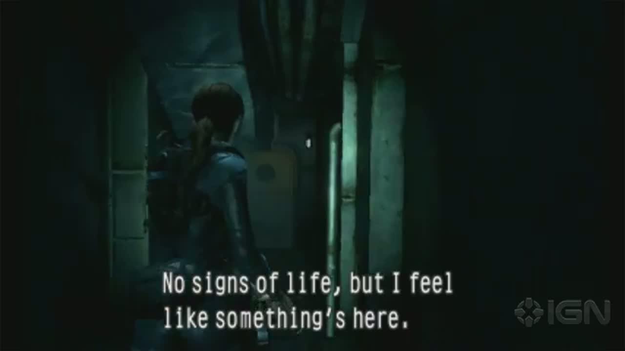 Resident Evil Revelations - Ship Atmosphere