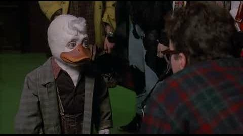 Howard the Duck - stealing a feather