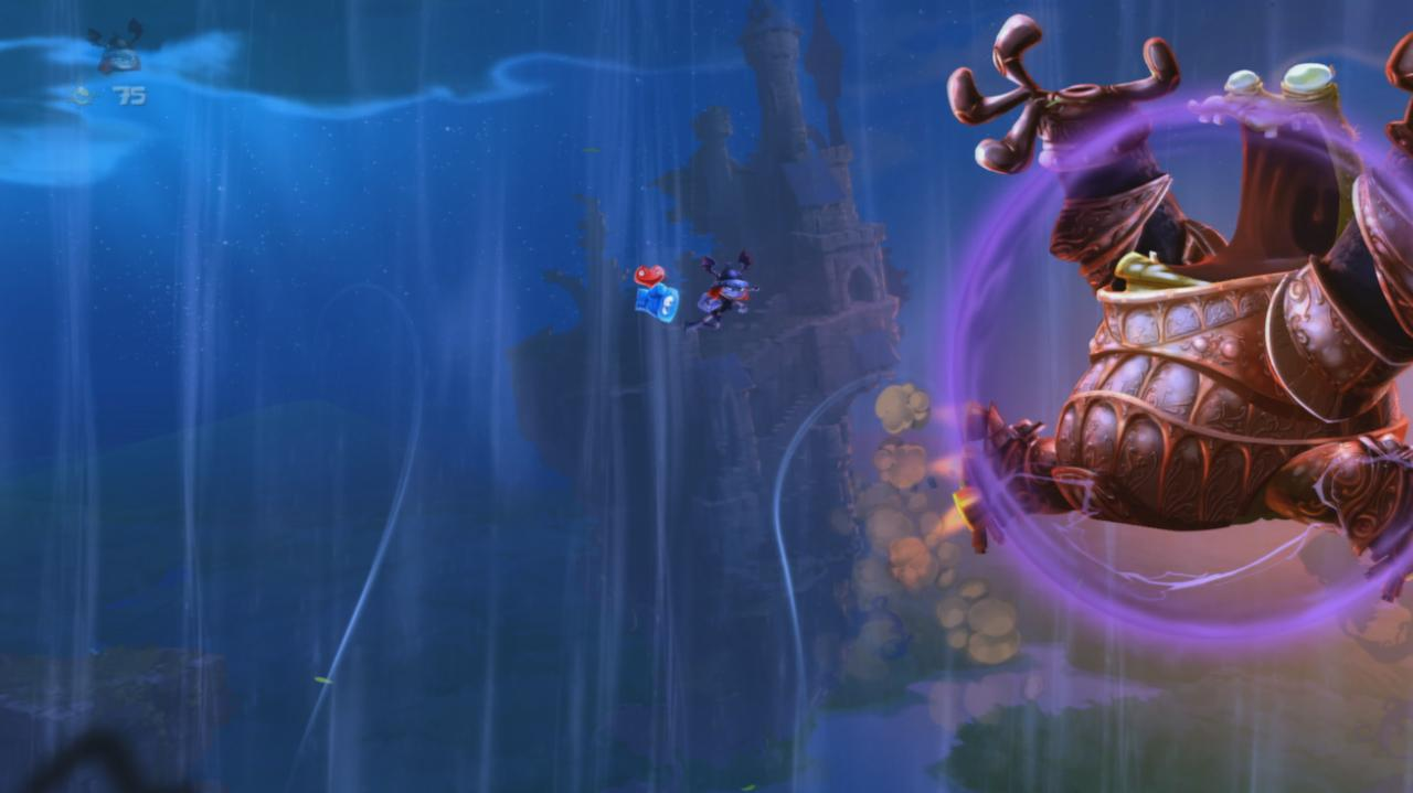Rayman Legends Walkthrough Toad Story - Armored Toad