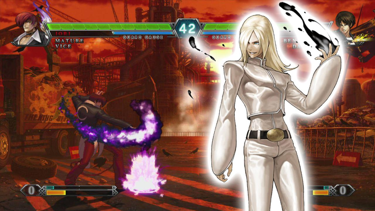 King of Fighters XIII Set 5 Cafe ID Guts VS Cafe ID Lacid - EVO 2012 Top 8