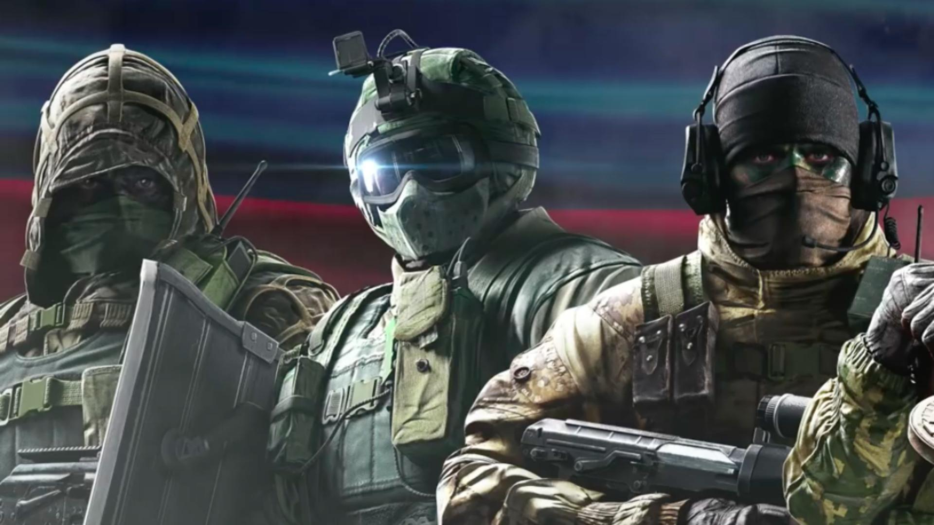 Rainbow Six Siege Gign Operators: Inside Rainbow 5 Trailer