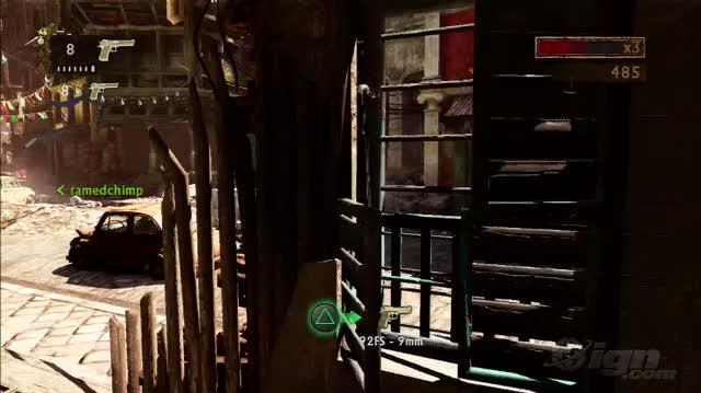 Uncharted 2 Among Thieves PlayStation 3 Gameplay - E3 2009 Desert Eagle