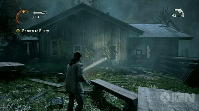 Alan Wake X360 - Walkthrough - Alan Wake - Nightmare Difficulty - Episode 2 - Rusty