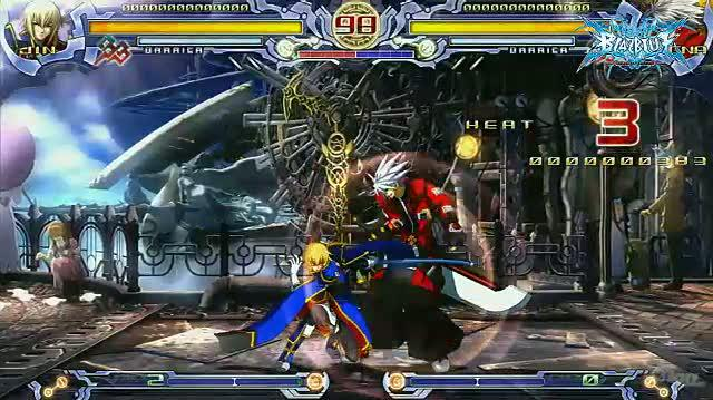 BlazBlue Calamity Trigger (Limited Edition) PlayStation 3 Gameplay - Jin Montage