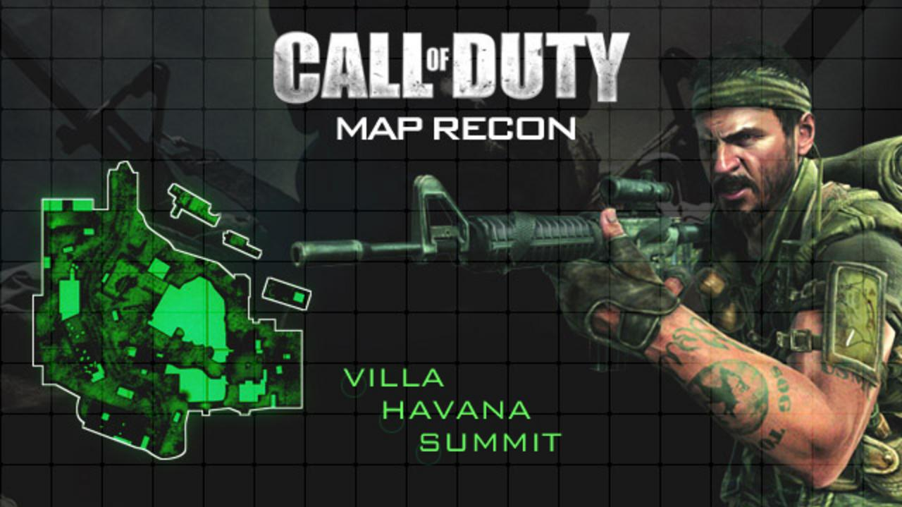 Call of Duty Black Ops Map Walkthrough – Summit