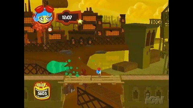 El Tigre The Adventures of Manny Rivera PlayStation 2 Gameplay - Keep Jumping