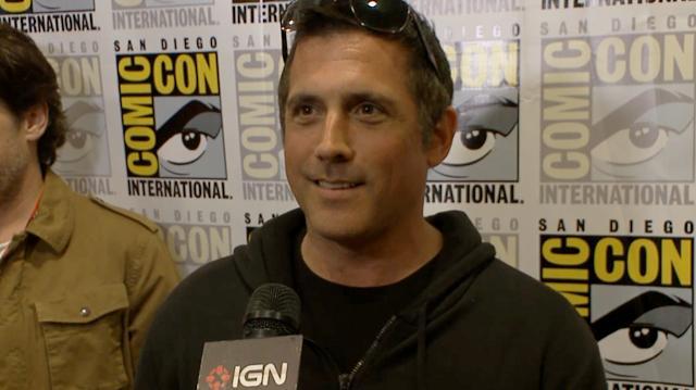 Fringe - J.H. Wyman Interview - Comic-Con 2012