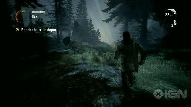 Alan Wake X360 - Walkthrough - Alan Wake - Nightmare Difficulty - Episode 3 - Haunted House