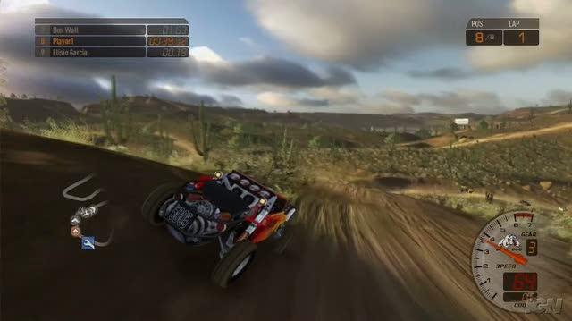 Baja Edge of Control Xbox 360 Gameplay - E3 2008 Start Race