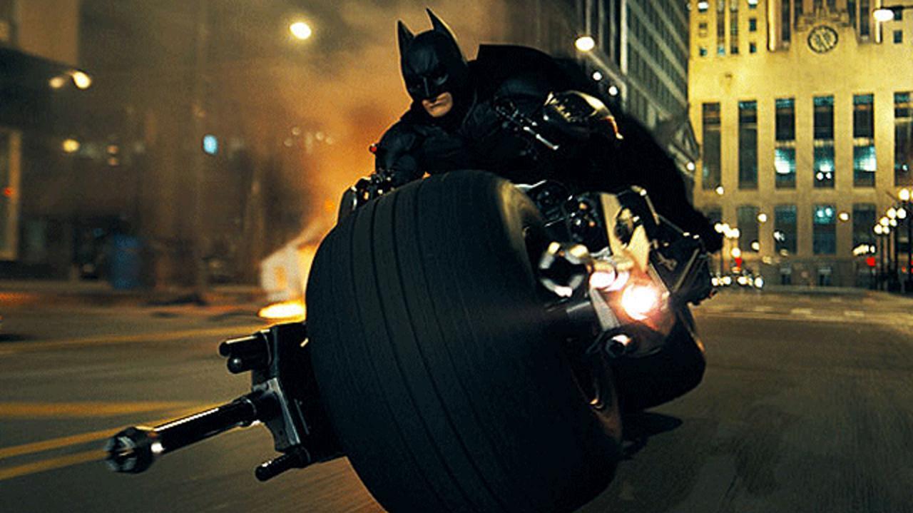 Exclusive Dark Knight Rises Set Video