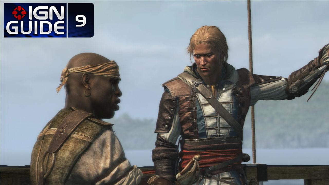 Assassin's Creed 4 Walkthrough - Sequence 03 Memory 01 This Tryo Captain (100% Sync)