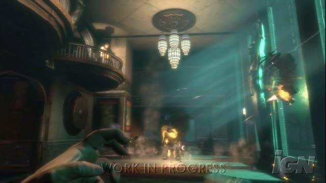 BioShock PC Games Video - Big Daddy Hunt