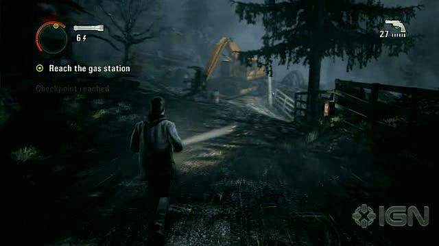 Alan Wake X360 - Walkthrough - Alan Wake - Nightmare Difficulty - Episode 1 - Over the River