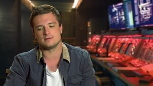 Mockingjay Part 1 - Josh Hutcherson Peeta Interview