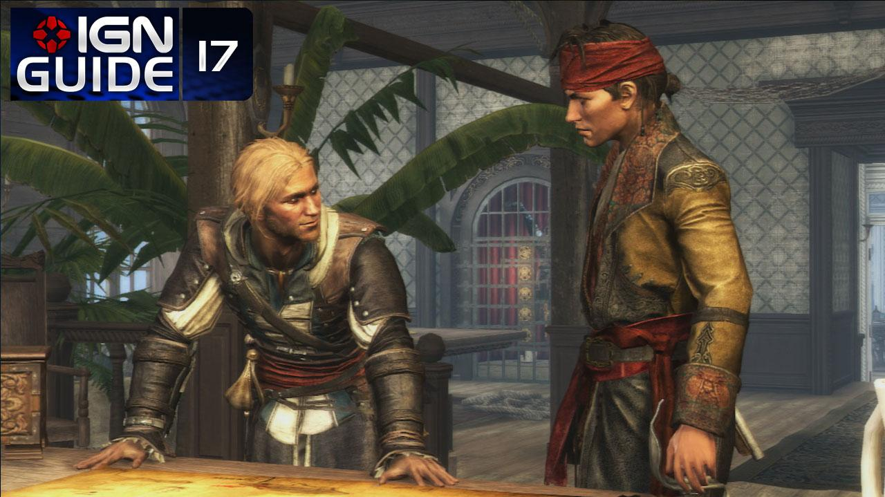 Assassin's Creed 4 Walkthrough - Sequence 04 Memory 01 This Old Cove