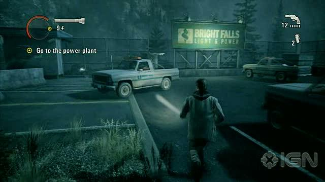 Alan Wake X360 - Walkthrough - Alan Wake - Nightmare Difficulty - Episode 5 - Power Plant