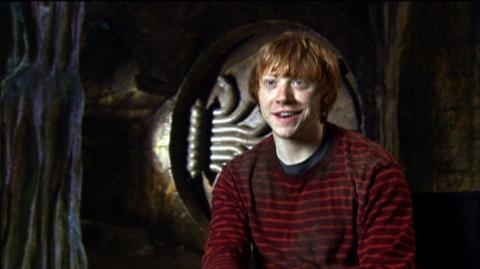 """Harry Potter and the Deathly Hallows Part 2 (2011) - Interview """"Rupert Grint On The Chamber Of Secrets Set"""""""