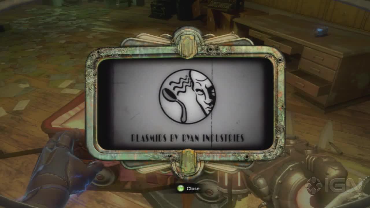 BioShock 2 - Telekinesis - Gameplay