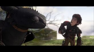 How To Train Your Dragon 2 - Dragon Kisses Clip