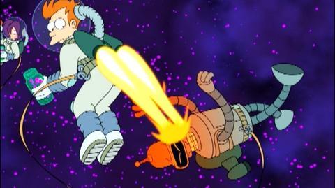 Futurama Volume Three (1999) - Open-ended Trailer