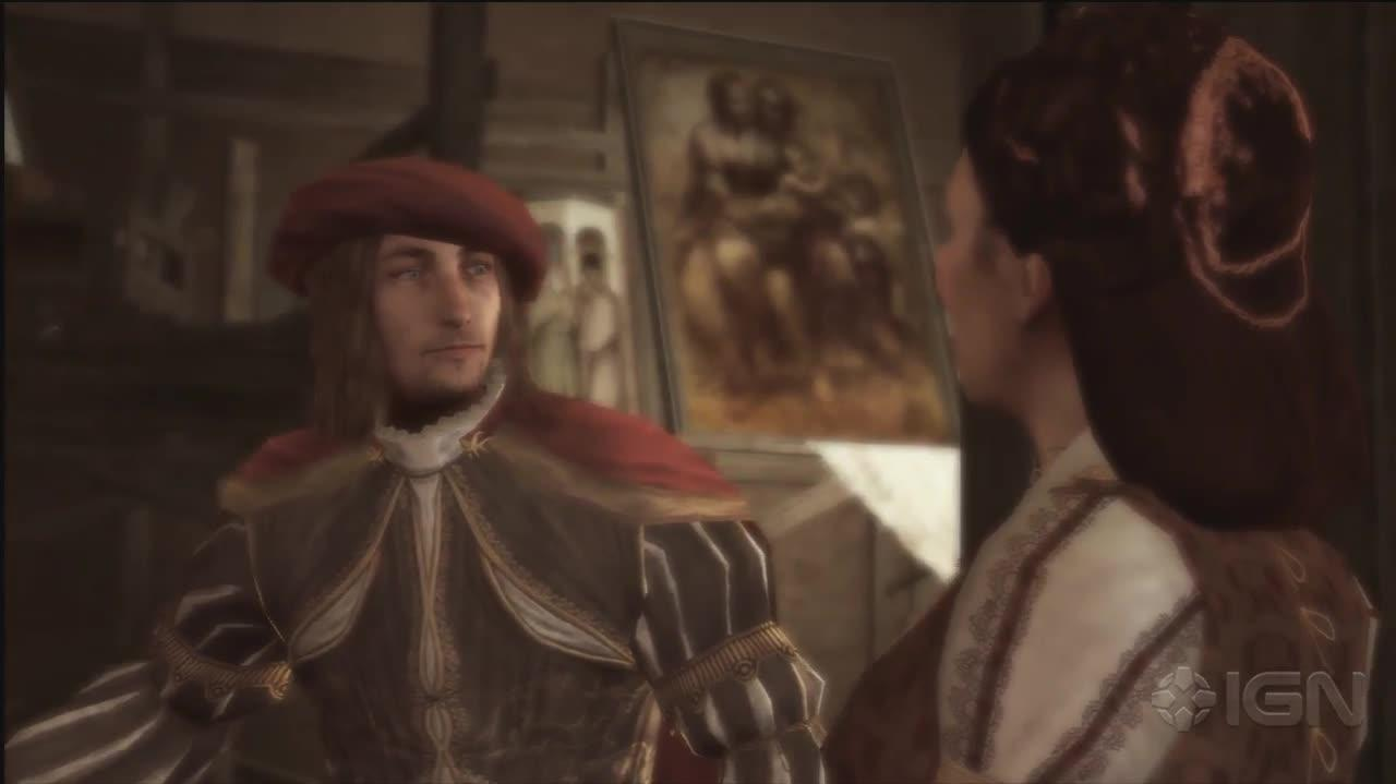 Assassins Creed 2 - Meeting Leonardo - Gameplay