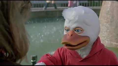 Howard the Duck - Howard is angry