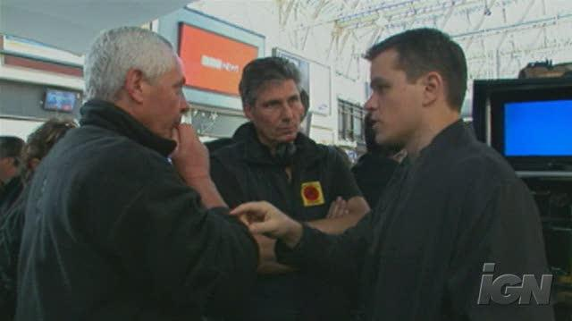 The Bourne Ultimatum DVD Feature-Behind-the-Scenes - Waterloo Station