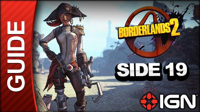 Borderlands 2 Captain Scarlett and Her Pirate's Booty DLC Walkthrough - Faster than the Speed of Love - Side Mission (Part 19)