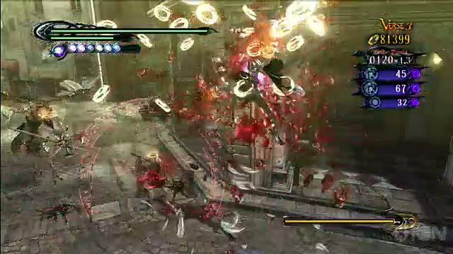Bayonetta Xbox 360 Video - IGN Montage Weapons