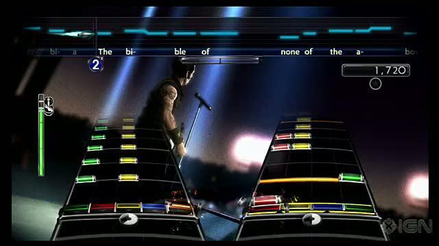 Green Day Rock Band Xbox 360 Gameplay - Jesus of Suburbia