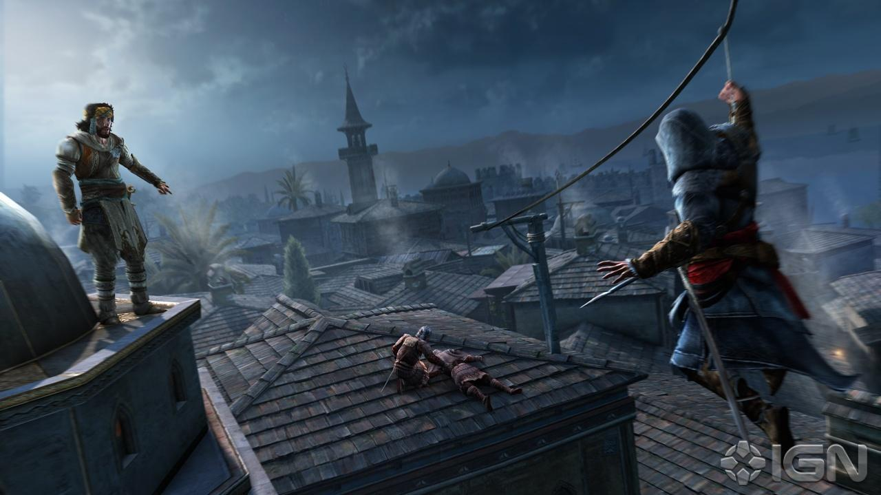 Assassin's Creed Revelations - No Mercy Trailer